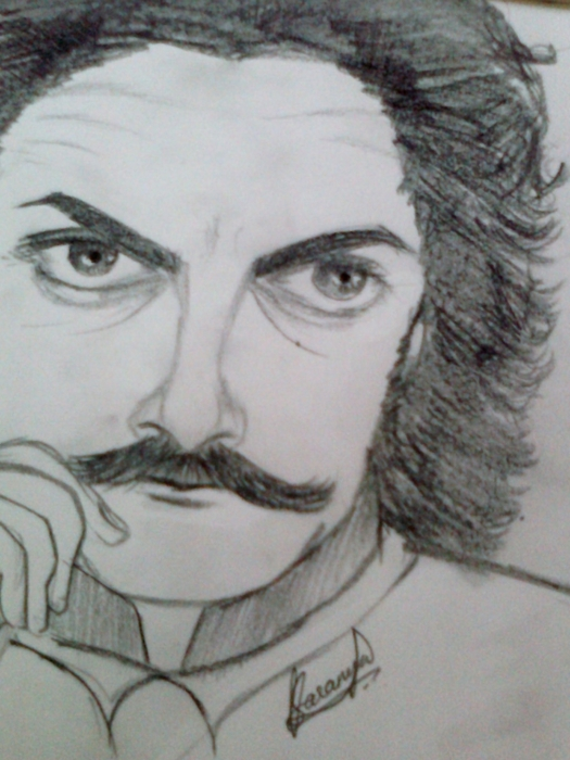 Aamir Khan by Saranya